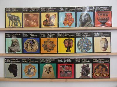 18 Bücher Kunst im Bild Holle Verlag Kunstgeschichte Weltgeschichte