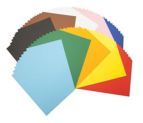 Tonpapierblock A4 Farbig Sortiert 100 Blatt