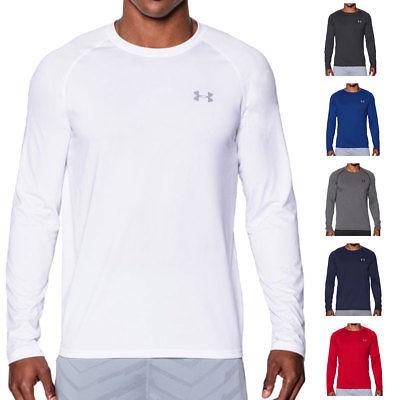 Under Armour Mens UA Tech Long Sleeve T Shirt LS Training Tee 36% OFF RRP