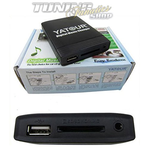 USB SD MP3 AUX in CD Wechsler Adapter Radio Professional Business 17Pin Rund