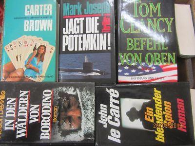 32 Bücher Romane Krimi  Kriminalromane Spionageromane Detektivromane