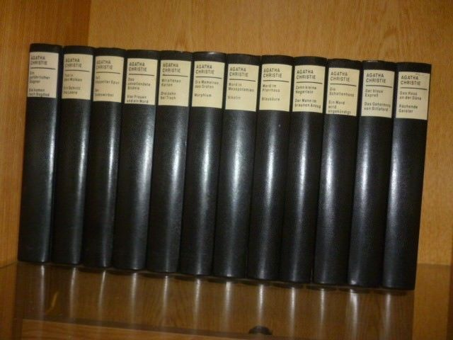 Agatha Christie Sammlung 12