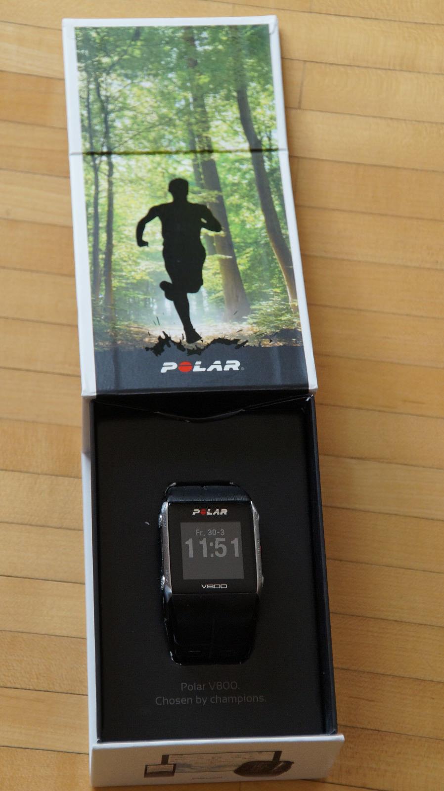 POLAR V 800 GPS Herzfrequenzmessung und H7-Sensor  - Topzustand -