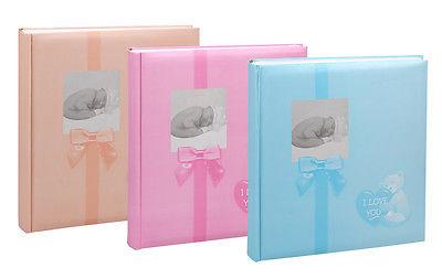 Baby Fotoalbum in 30x30 cm 100 Seiten für 600 Fotos Kinder Foto Album