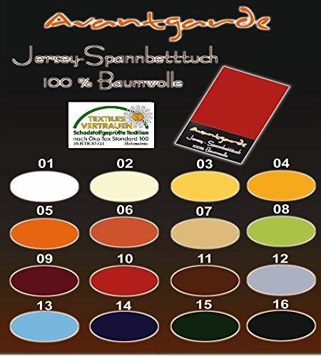 SPANNBETTLAKEN WASSERBETTEN BOXSPRINGBETTEN 180x200 bis 200x220 170gr Öko Tex Zertifikat Avantgarde 100% Baumwolle 19 Farben (12-graphit)