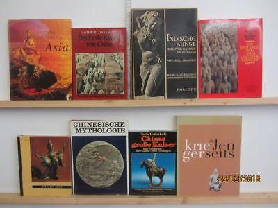 31 Bücher Bildbände Kunst Kultur asiatische  Geschichte Asien Indien China
