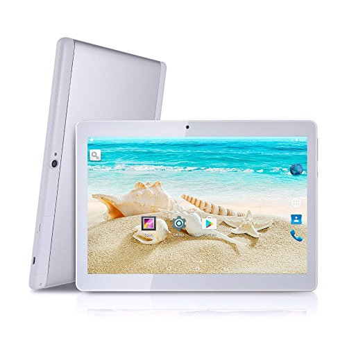 Quad Core 10.1 Zoll Tablet PC Tagital tablet mit Dual Sim Android 6.0 Handy, 1280 x 800 IPS-Display, Dual Kamera, GSM entsperrt, Tablet 2 G/3G