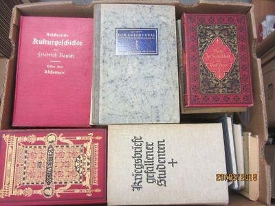 56 Bücher antiquarische Bücher