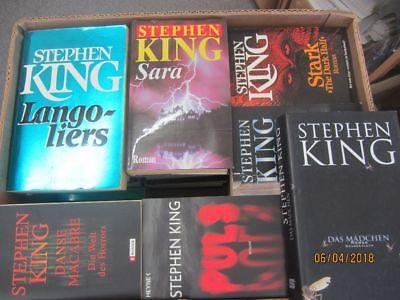 Stephen King 40 Bücher Horrorromane Gruselromane Fantasyromane