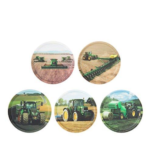 ergobag Klettie-Set Landmaschinen
