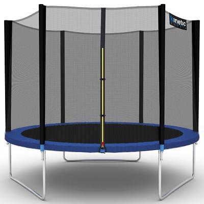 Kinetic Trampolin 3,10m Gartentrampolin mit Sicherheitsnetz 310cm Komplettset