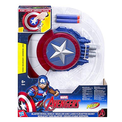 The Avengers Avengers Marvel Captain America Blaster Reveal Shield