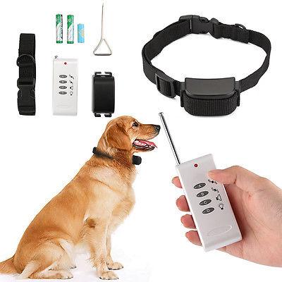 Antibell Halsband Erziehungshalsband Ferntrainer Hunde Training Vibration