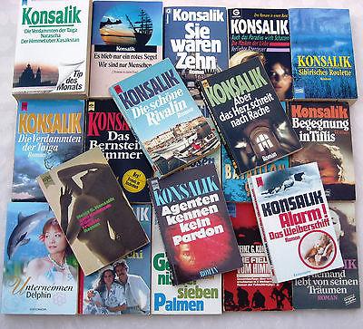 50 x KONSALIK - Taschenbücher Sammlung SONDERPREIS Bücherpaket