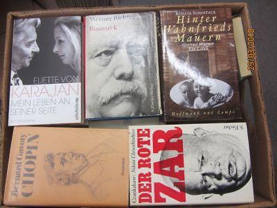 33 Bücher Biografie Biographie Memoiren Autobiografie Lebenserinnerung Paket 3
