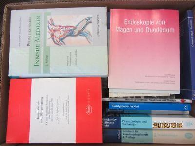 49 Bücher medizinische Fachbücher innere Medizin Anatomie Krankheit Gesundheit