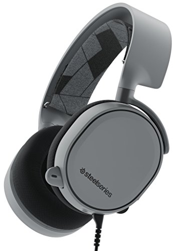 SteelSeries Arctis 3, Gaming-Headset, Kompatibel mit allen Plattformen, PC / Mac / PlayStation 4 / Xbox One / Nintendo Switch / Android / iOS / VR, Farbe Slate Grey