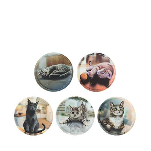 Ergobag Accessoires Klettbilder-Set 5-tlg Kletties Katzen Katzen