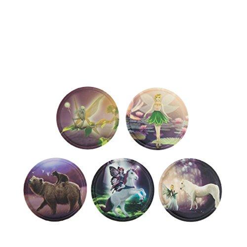 Ergobag Accessoires Klettbilder-Set 5-tlg Kletties Feenwelt Feenwelt