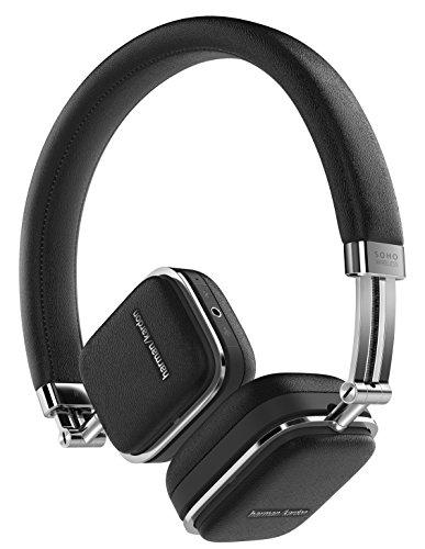Harman Kardon Soho Wireless On-Ear Mini Kopfhörer (NFC, Bluetooth, faltbarer, tragbarer, geeignet für Apple iOS/Android Smartphones/Tablets/MP3 Geräten) schwarz