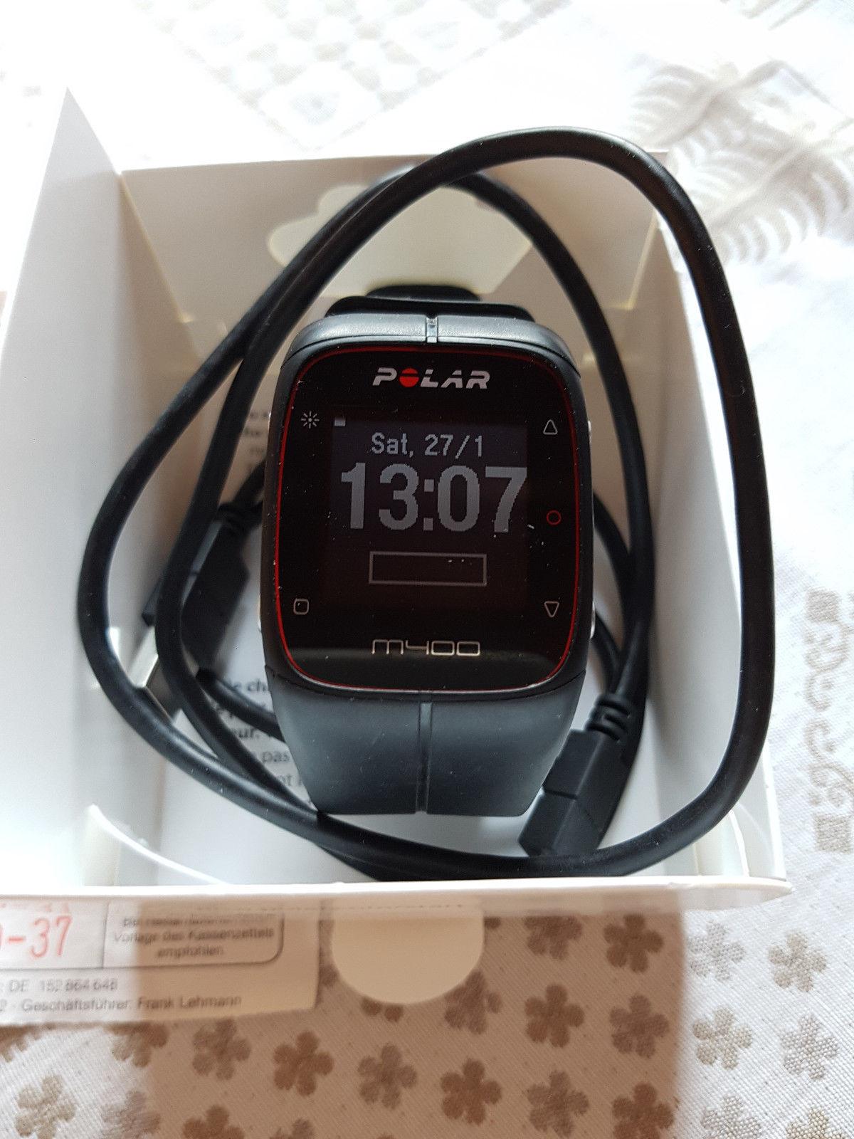 POLAR M 400 GPS Laufuhr