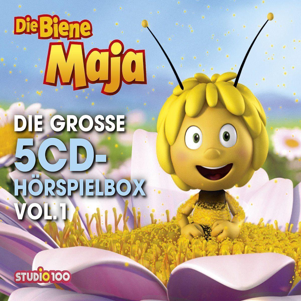 5 CDs * DIE BIENE MAJA - DIE GROSSE 5-CD HÖRSPIEL BOX VOL. 1 (CGI)  # NEU OVP !