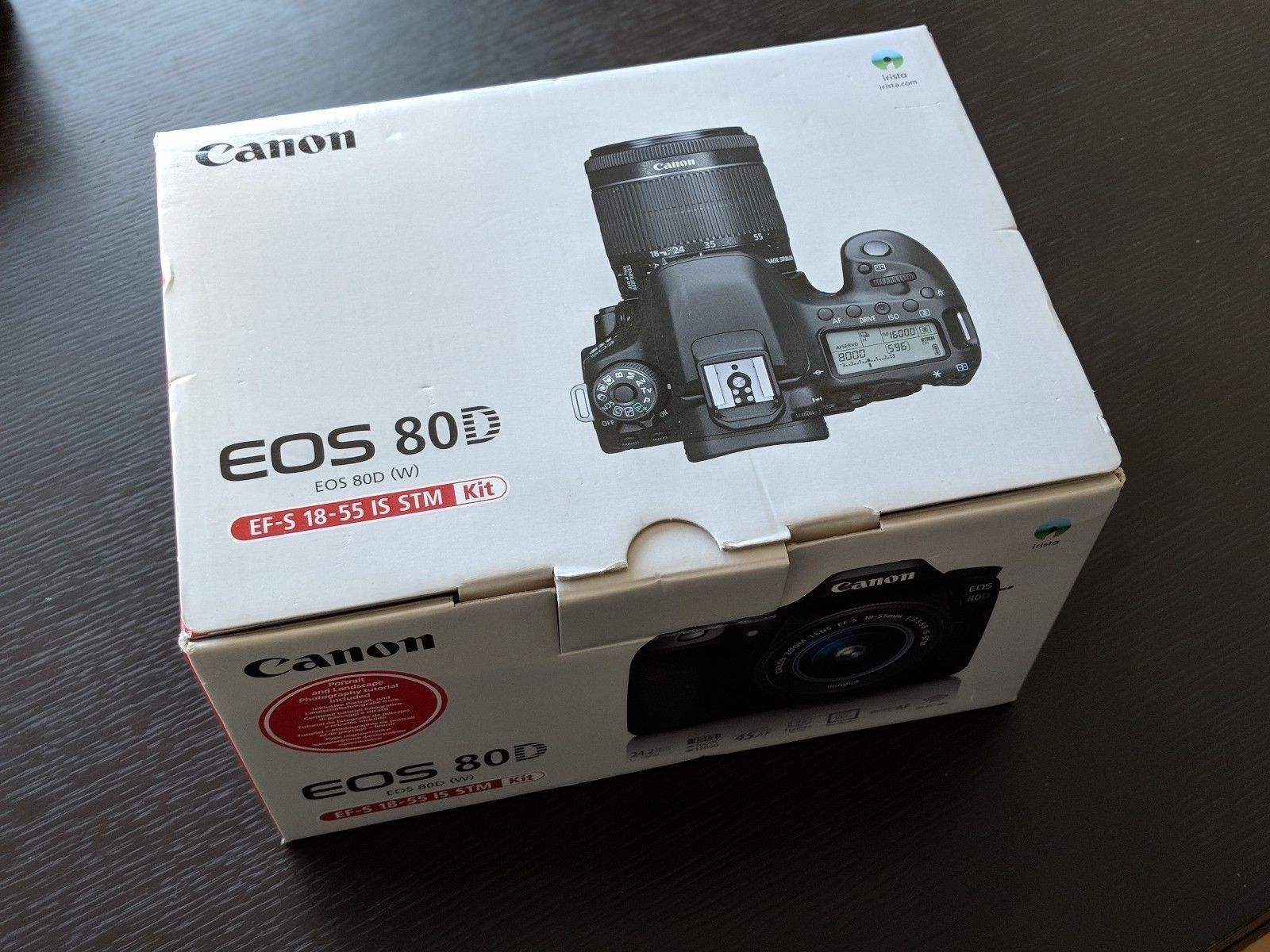 Canon EOS 80D Kit inkl. EF-S 18-55mm 1:3,5-5,6 IS STM