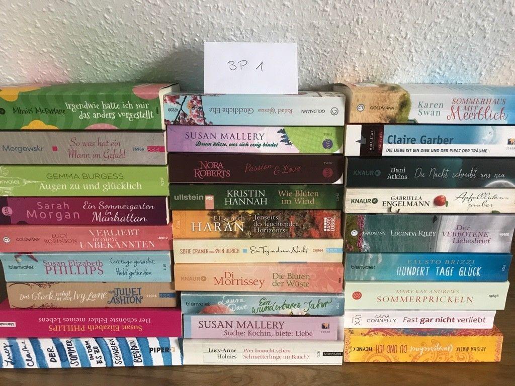 Bücherpaket 28 Frauenromane, Taschenbücher, Liebesromane