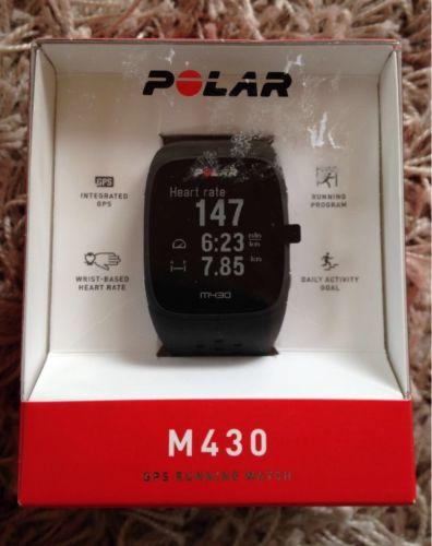 Polar M430, schwarz, GPS Sportuhr mit Pulsmessung am Handgelenk !! (NEU + OVP)