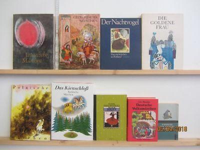 35 Bücher Märchenbücher Märchen nationale und internationale Märchen