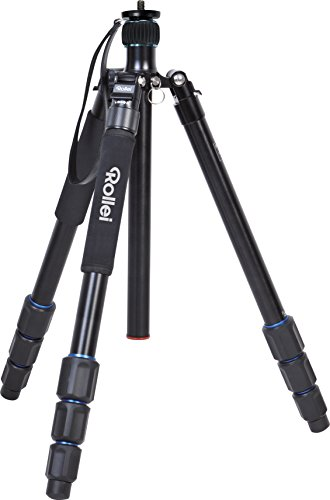 Rollei Tripod C6i Pure - Stable aluminum tripod - Specially designed for travel and nature photography - Black