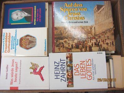 59 Bücher Theologie Religion Kirchengeschichte christliche Bücher