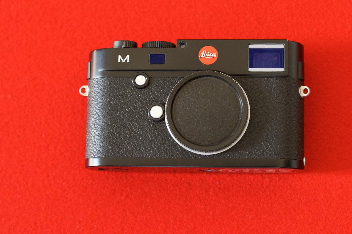Leica M (Typ 240) 24.0 MP Digitalkamera - Schwarz