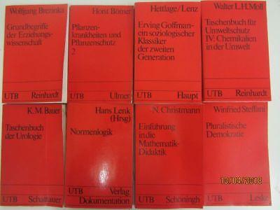 64 Bücher Taschenbücher UTB Uni Taschenbücher Fachbücher Sachbücher