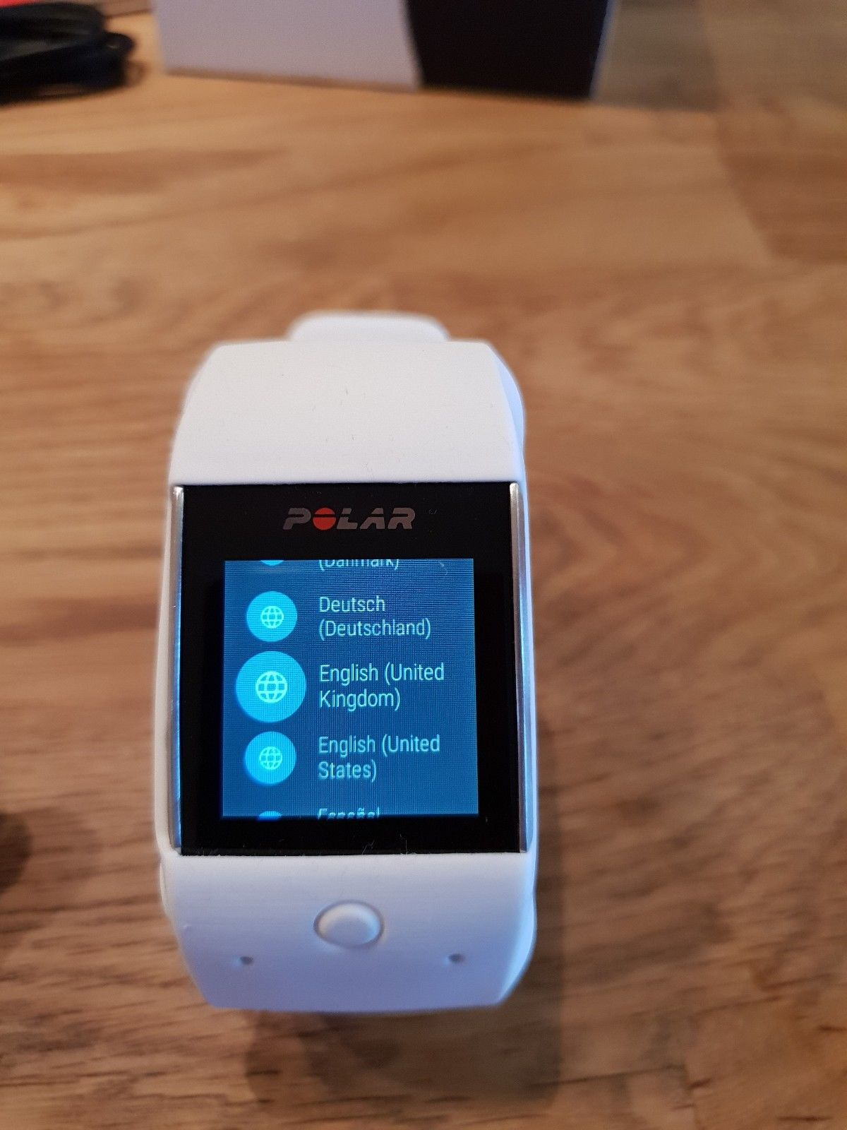 Polar M600 Smartwatch - Orig.Verpackung, Ladekabel, Handbuch