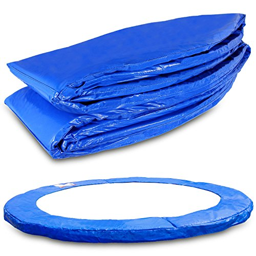 Terena® spring cover 183- 244- 305- 366- 396- 427- 457- 488 cm for trampoline edge cover blue PVC - UV resistant, blue