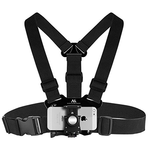 Maclean MC-773 Camera Chest Strap Chest Mount Holder Phone Camera  Compatible With GoPro Cameras cdf69fcd1e