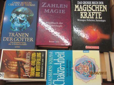 65 Bücher Esoterik esoterische Bücher Grenzwissenschaften Geheimwissenschaften