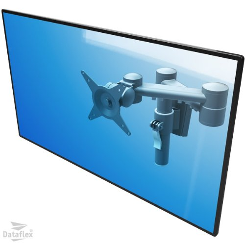 Dataflex 52.052ViewMate Style 60.96cm (24Inch) Monitor Wall Mount Bracket Silver