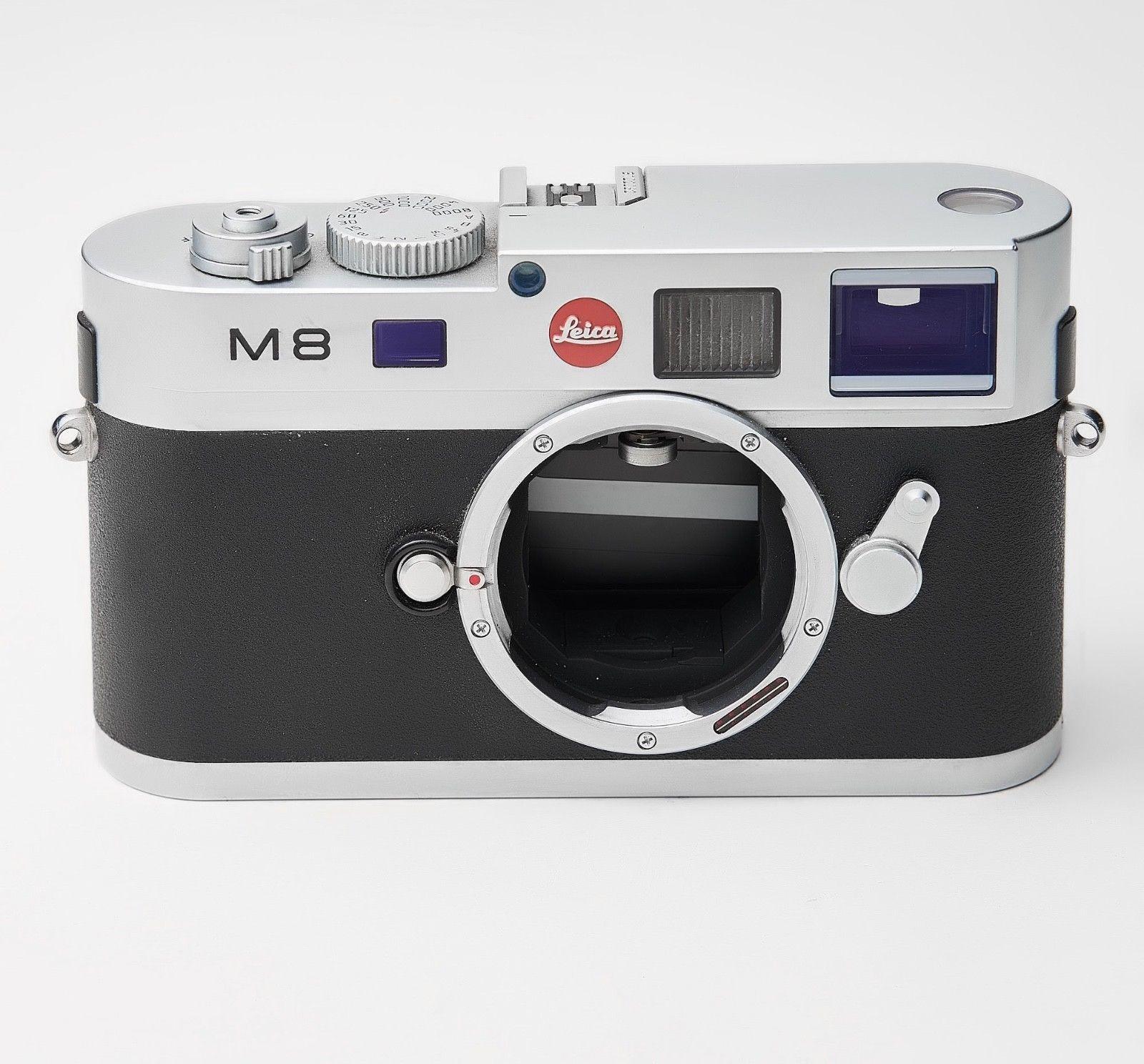 Leica M M8 10.3MP Digitalkamera - chrom