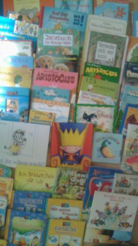 XXL Paket 60 Kinderbücher Kleinkinder Wimmelbücher Pappbilderbücher Bilderbücher