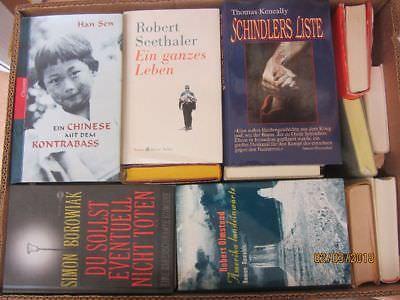 47 Bücher Hardcover Romane Sachbücher verschiedene Themen Paket 1