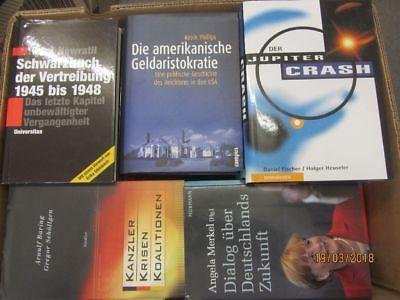 36 Bücher Sachbücher Wissenschaft Wirtschaft Politik Zeitgeschichte Paket 3