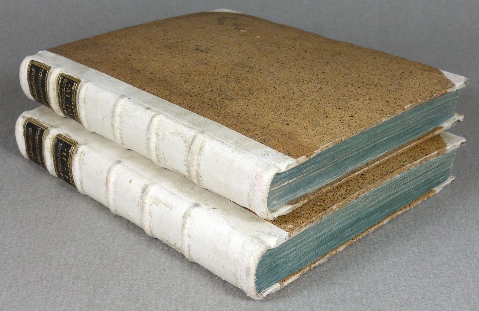 1787 - INKUNABEL - Bibliographie - BUCHWESEN Prachtausgabe Leder Ingolstadt RAR