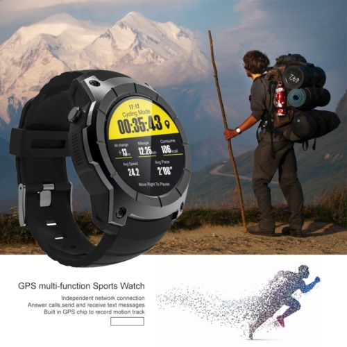 S958 Bluetooth GPS Sportuhr Laufuhr Smartwatch Puls Android Handyuhr für iPhone