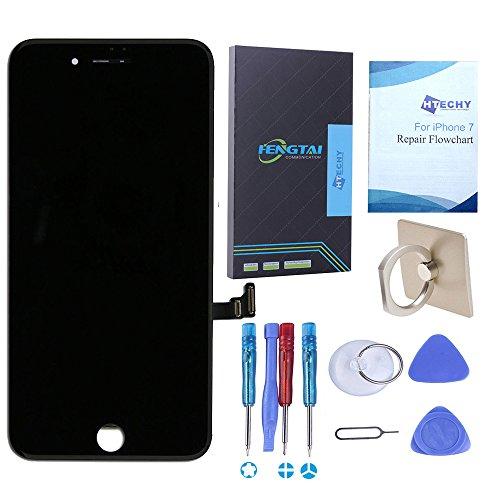 For iPhone 7 Display schwarz-Htechy LCD Ersatz Für Touchscreen Bildschirm Glas Reparaturset Ersatz Einschließlich Kostenlose Werkzeug