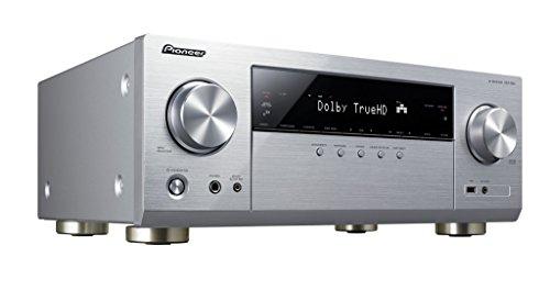 Pioneer VSX-832 5.1 Netzwerk AV-Receiver mit Dolby Atmos, Multiroom und integriertem WiFi & Bluetooth unkomplizierten Musik-Streaming silber