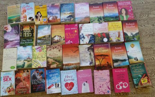 36 neuere frauenromane liebesromane paket