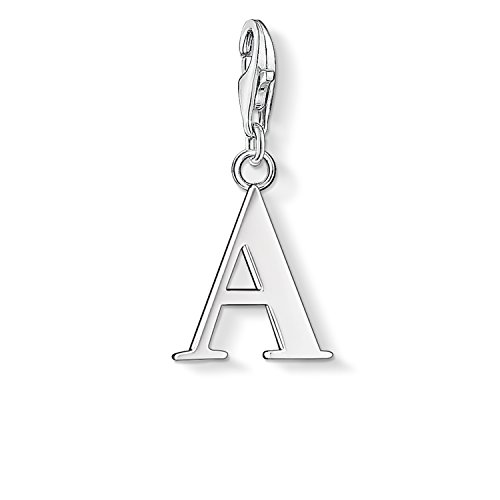 Thomas Sabo Damen-Charm-Anhänger A Buchstabe Charm Club 925 Sterling Silber 0175-001-12
