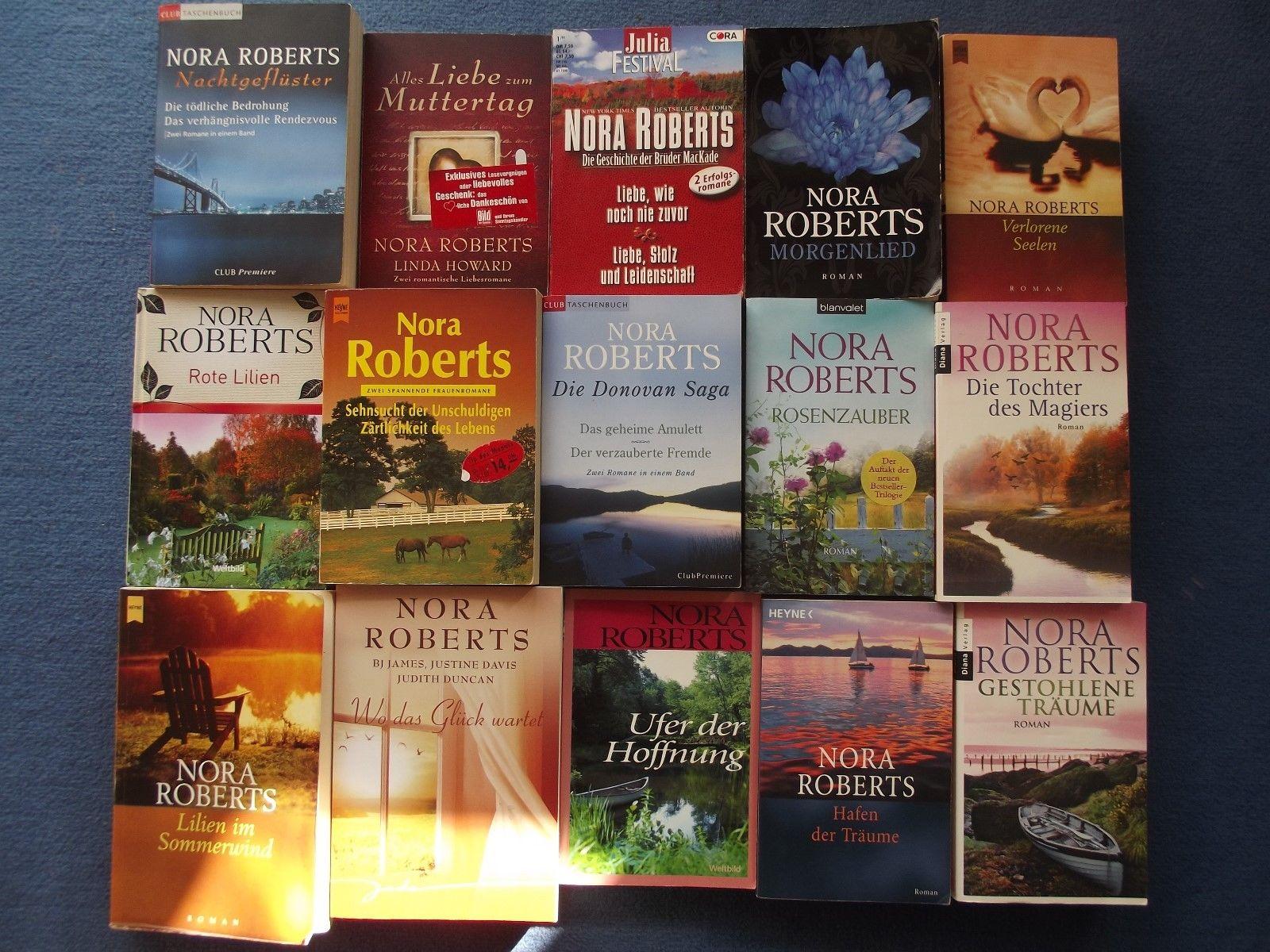 Top Bücherpaket 15 Bücher von Nora Roberts